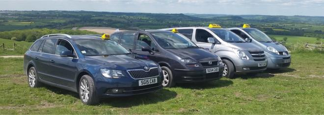 S&G Taxis vehicles